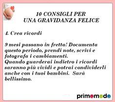 10 consigli per una gravidanza felice. Consiglio numero 4 - Crea ricordi http://www.primomodo.com/10-consigli-per-una-gravidanza-felice.html