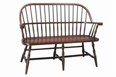 Amish Franklin Sack Back Windsor Bench