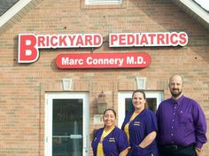 The whole staff at Brickyard Pediatrics in Hobart Indiana
