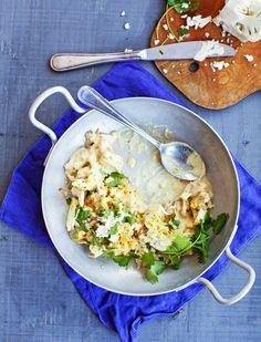 Kukkakaalista ja kaupan grillibroilerista syntyy maailman nopein curry. Nopea ruoka pitää kiireisen keittäjän tyytyväisenä