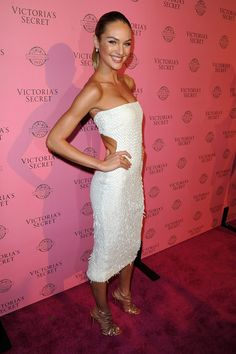 c12ace5b6b Candice Swanepoel Photos Photos  VS Angels Host A Pink Carpet Event In Los  Angeles To Celebrate The 2011 Victoria s Secret SWIM Collection