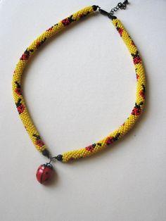 8 around (see ladybug on yellow pattern)