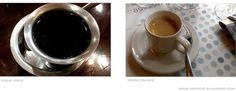 Coffees - Kahveja - Les cafes