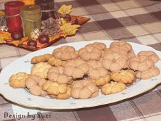 Vanilla and cocoa/coconut butter cookies