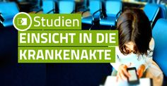 Studien: Einsicht in die Krankenakte Sale On, Check It Out, Names, Calm, Poster, Step By Step Instructions, Knowledge, Tutorials