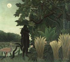 Henri Rousseau L'incantatrice di serpenti