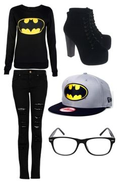"""Batman Forever"" by zakandvayahbagansforever ❤ liked on Polyvore"