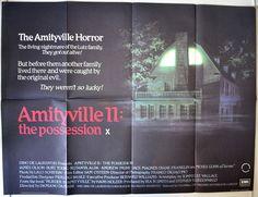 Amityville II : The Possession - Original British Quad Movie Poster