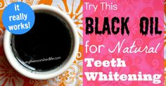 Try This Black Oil for Natural Teeth Whitening (It Really Works!) - The Nourished Life