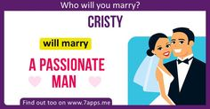Find out who will you marry!