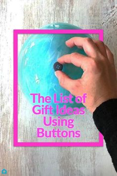 Save your buttons for these adorable gift ideas
