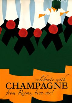 Vintage Champagne Posters