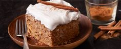 Old Fashioned Applesauce Spice Cake. Enjoy a warm piece of this long-time favorite #DuncanHines recipe on a chilly Fall day. #bakingseason