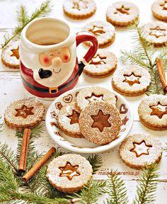 Krówkowe Kruche Ciasteczka - PRZEPIS - Mała Cukierenka Xmas, Christmas, Cookie Decorating, Cake Pops, Biscuits, Food Porn, Food And Drink, Sweets, Cookies