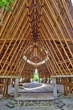 Bamboo Buildings by Andry Widyowijatnoko