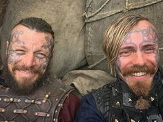 brothers Harald and Halfdan Vikings Actors, Vikings Show, Vikings Tv, Lagertha, Ragnar Lothbrok, Floki, Bracelet Viking, Viking Jewelry, Viking Wallpaper