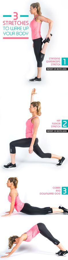 A quick pre-workout routine to stretch your body and loosen up your muscles.