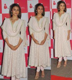 Celebrities in Indian Designers Long Length Anarkali Salwar Suits Photos 2015 - Vega Fashion Mom