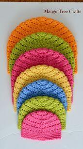 38 melhores imagens de Toucas em croche  f8f61440cfa