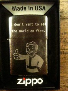 Fajna zapalniczka :) #Fallout