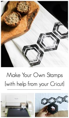 Love these DIY stamp