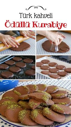 Teremyağlı Türk Kahveli Kurabiye (videolu) - Nefis Yemek Tarifleri - galletas - Las recetas más prácticas y fáciles Yummy Recipes, Cookie Recipes, Yummy Food, Biscuits Au Café, Sweet Crepes Recipe, Coffee Cookies, Turkish Coffee, Homemade Desserts, Turkish Recipes