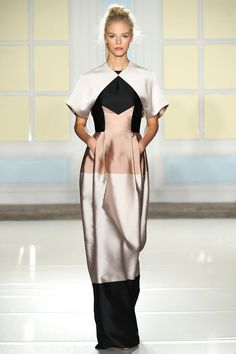 TIPOLOGÍA: Vestido simétrico | Temperley London | Spring 2014 Ready-to-Wear Collection | Style.com