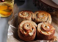 Cheese, Onion & Chive Scrolls