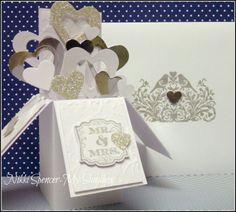Wednesday, February 12, 2014 My Sandbox: Card in a Box...Wedding Style!