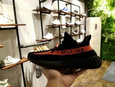 High Quality 2017 New Adidas Yeezy Boost 350 Core Black Red Limited Athletic Outfits, Sport Outfits, Casual Outfits, Fitness Outfits, Men's Outfits, Woman Outfits, Fashionable Outfits, Workout Outfits, Adidas Running Shoes