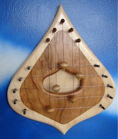 Hand Crafted Ash Amp Mahogany Hanging Door Harp Via Vermont