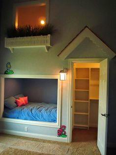 Atrractive Small Kids Bedroom Interior Design With Unique Bed Cover Beside Door Also Wall Lamp Decor Ideas Amazing Kids Bedroom Design with Smart Concept Bedroom Bedroom design http://seekayem.com