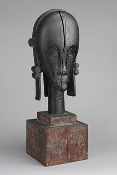 The African art collection of the Metropolitan Museum of Art.