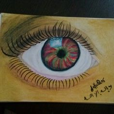 Second eye before going to sleep! Chaa~ Had a hard time with this one. Oil pastel is never that easy.  #oilpastel #pastel #art #arts #artist #color #colour #colourful #colorful #eye #beauty #draw #drawing #sketch #sketching #dahuq95