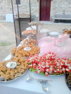 Christening reception buffet by F Zone, Greece