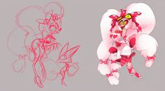Villa and another mystery character from Vivziepop