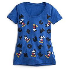 Mickey Mouse Tee for Women | Tees, Tops & Shirts | Disney Store