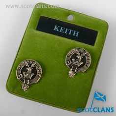 Clan Keith Cufflinks. Free worldwide shipping available