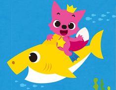 Little Pink Fox & Shark Friend 2nd Baby, Baby Kids, Shark Facts, Sharks For Kids, Baby Shark Doo Doo, Shark Family, Pink Fox, Under The Sea Theme, Paw Patrol