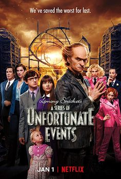 With Neil Patrick Harris, Patrick Warburton, Malina Weissman, Louis Hynes. After the loss of their parents in a mysterious fire, the three Baudelaire children face trials and tribulations attempting to uncover dark family secrets. Netflix Kids, Netflix Movies, Shows On Netflix, Movie Tv, Netflix Online, Rent Movies, Movies Free, Marvel Movies, Horror Movies