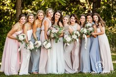 #GSQuickTips: When selecting bridesmaids' dresses, choose the fabric, length, and color and let your girls do the rest! This gives your 'maids an opportunity to choose a style they feel beautiful in.