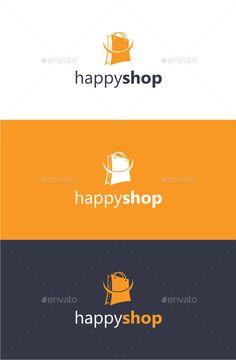 Happy Shop - Logo Template - Objects Logo Templates
