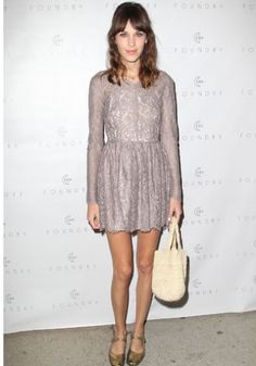 Alexa Chung in a Lover dress