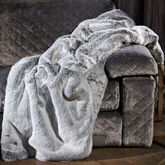 Rex Shadow Mountain Faux Fur Throw £395