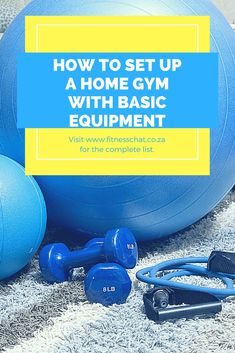 How to set up a home gym, equipment for home gym, basic equipment for home gym, how to workout from home #fit #fitnessmotivation #fitness #homeworkouts #gym #exercise #exercisefitness #fitnessresolution