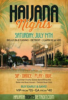 The Social Connection - Havana Nights Belle Isle 2018 Event Website, Family Emergency, Vip Tickets, Havana Nights, Ticket Sales, Casino Night, Text Messages, Event Planning