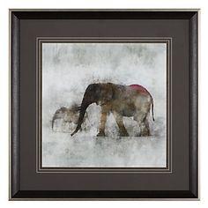Elephant 2   Framed Art   Art by Type   Art   Z Gallerie