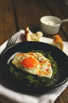 Eggs & spinach serbian style