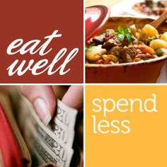 45+ frugal meals to help you eat well, spend less. There are some great healthy recipes when on a dime on this site.