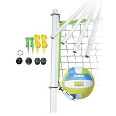 Franklin Intermediate Volleyball Set, Yellow